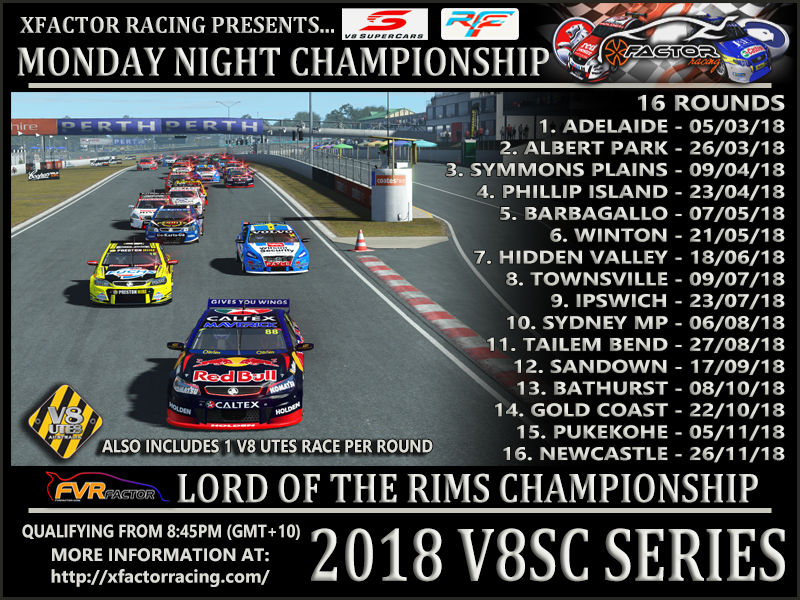V8 Supercars Real Series