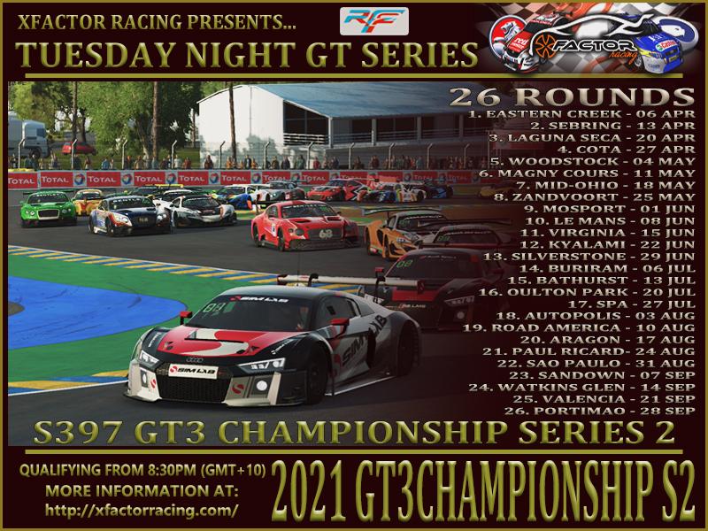 GT3 Series 2 2021