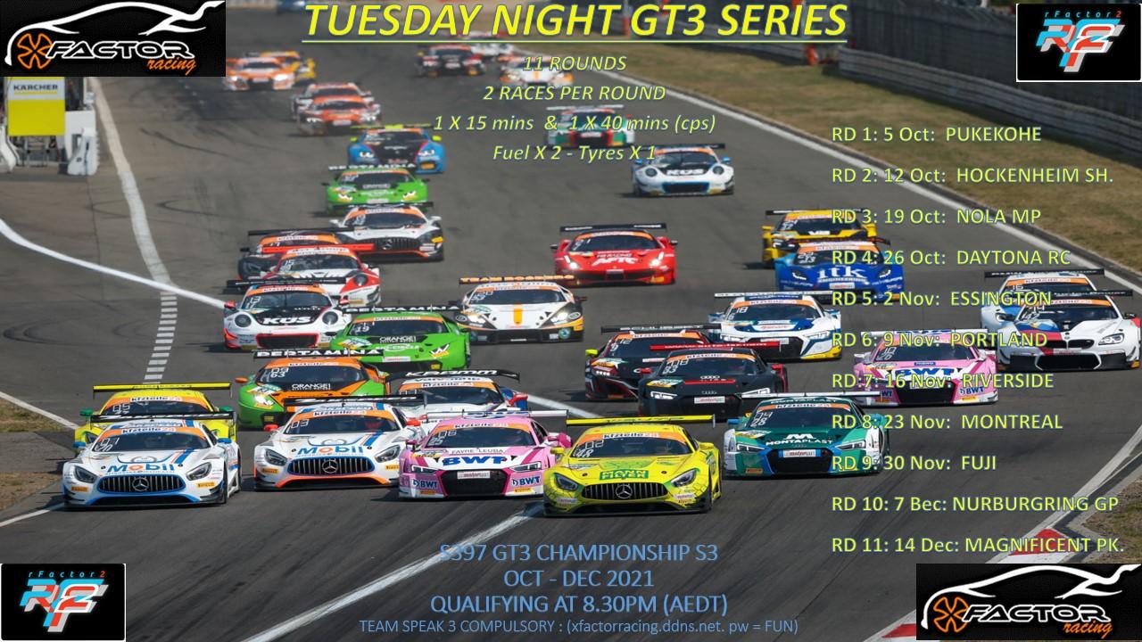 GT3 Series 3  2021