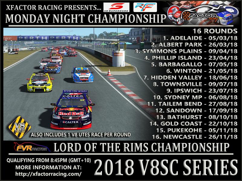 V8 Supercars Real Series